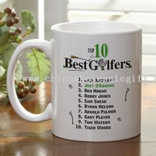 Golfers Coffee Mug images