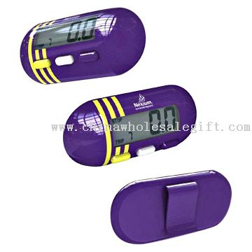 Capsule Shaped Pedometer for Health Care Promotion
