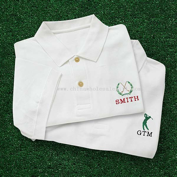 Embroidered golf polo shirt golfer shirt for Cheap custom embroidered polo shirts