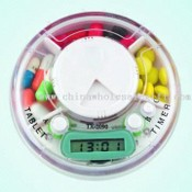 Convenient Pill Box with LCD Timer images