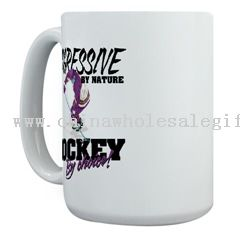 Hockey by Choice Large Mug