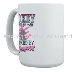 Perfected by Women Large Mug