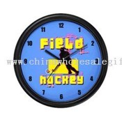 Field Hockey Wall Clock images