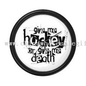 Give me hockey. Wall Clock images