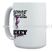 Hockey by Choice Large Mug images