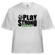 Play Strong White T-Shirt images