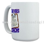 Thanks Coach! Large Mug images