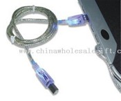USB Print Cable with LED images