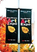 Polyester Avenue Pole Banner images
