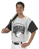 Two-Color Baseball Jersey images