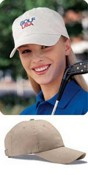 Six Panel Low-Profile Brushed Twill Stitched Cap images