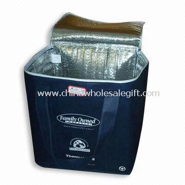 80g/M2 non-woven and 2mm aluminum foil in it Cooler Bag
