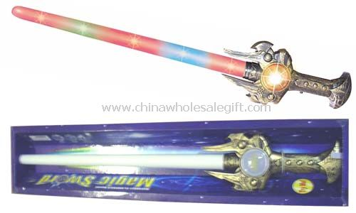Flashing Sword With Rainbow Ball And Sound