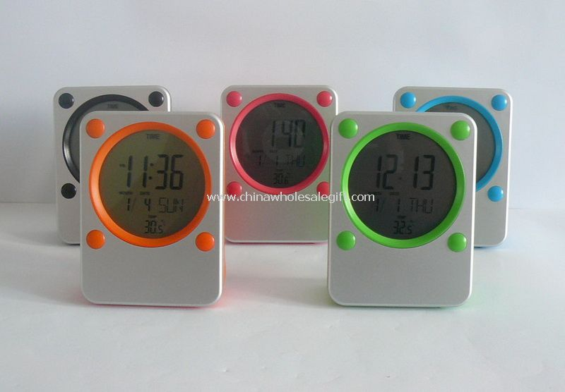 Mini Alarm LCD Clock