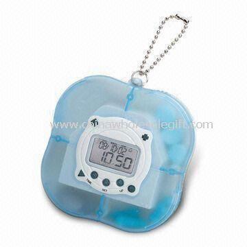 Pill box with timer/pill box