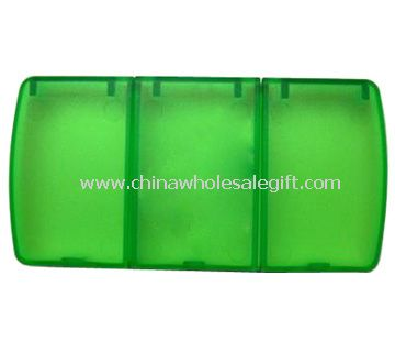 3 compartments Pill Box