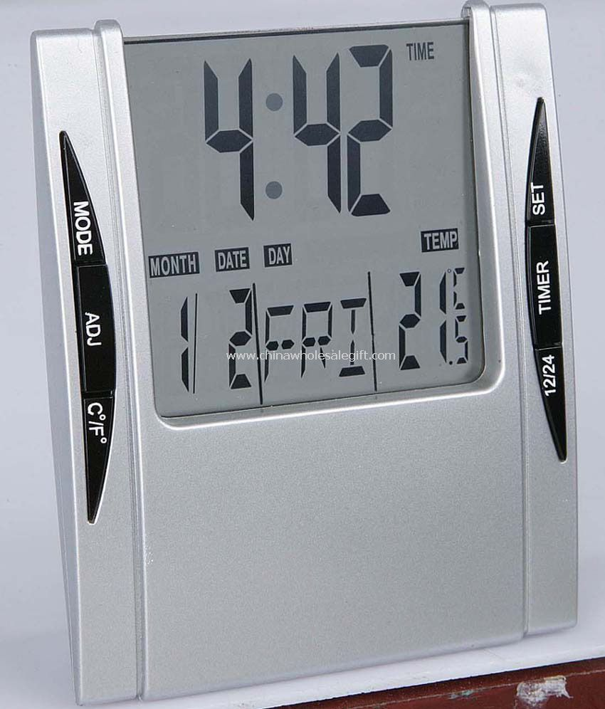 LCD Alarm Clock with Calendar