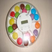 7-Compartments Pill Box with Time&Alarm images