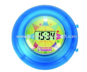 Mini LCD Clock With Cupula