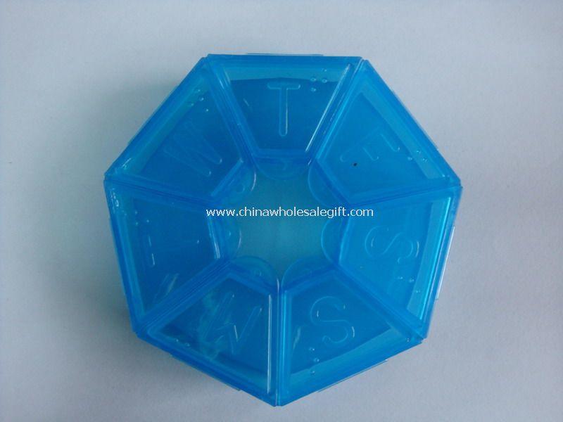 Pocket 7 day pill box