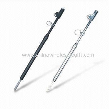 Large Pencil Tire Pressure Gauges/Repair Tools with Metal Heads and 20 to 220psi Scales
