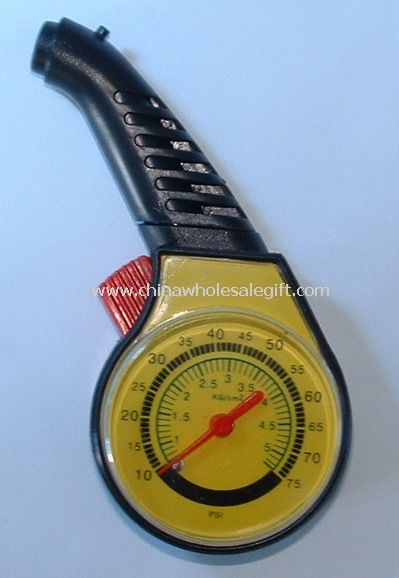 Plastic Dial Tire Gauge
