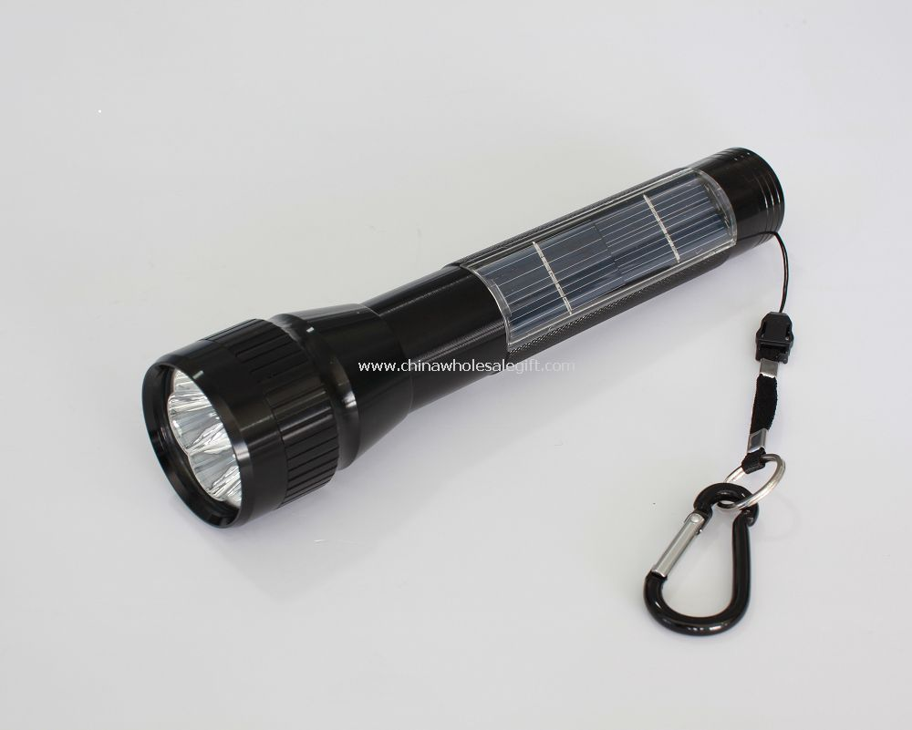 5 LED Solar Flashlight
