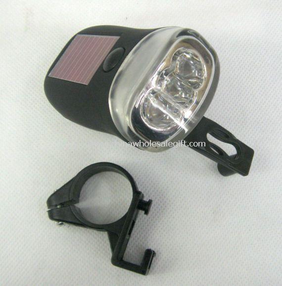 Dynamo & Solar Power Bicycle Lamp