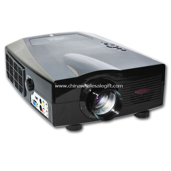 HD Digital LCD Multimedia Projector Video SVGA