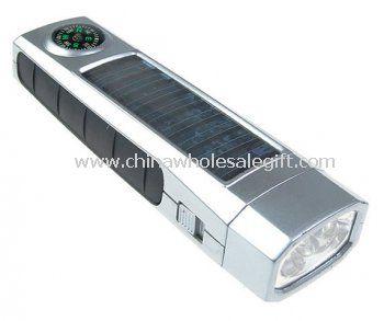 Solar Compass Flashlight