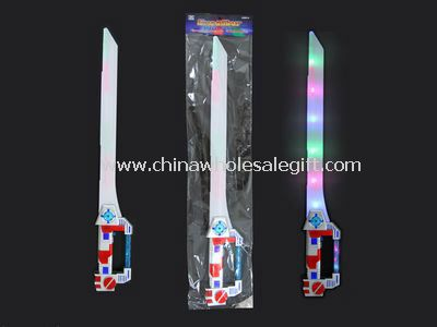 flashing sword stick
