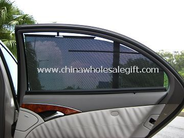 Automatic controlling Car Side Sunshade