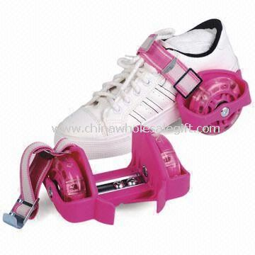 Flashing Roller Shoes with High Elasticity and Durability PVC Wheels