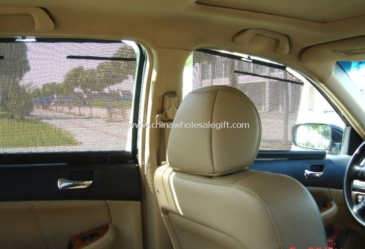Four Side Car Automatic Auto Sunshade Curtain