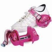 Flashing Roller Shoes with High Elasticity and Durability PVC Wheels images