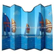 Folding and portable Car Sunshade images