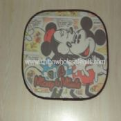 Mesh febric Car Sunshade Mickey images