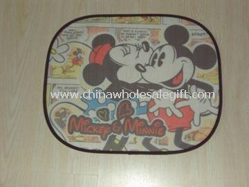 Mesh febric Car Sunshade Mickey
