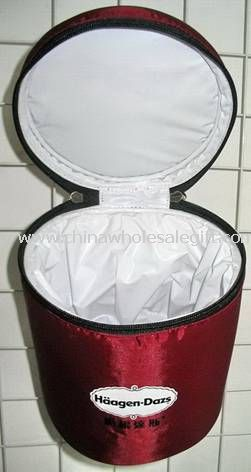 Polyester Columned Cooler Bag