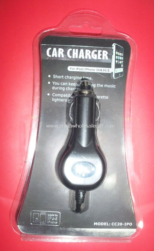 Car Charger For iPhone 3G/3GS