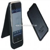 Battery Leather Case Cover W/ 2200mah Battery and Charger for iPhone 3G 3GS images