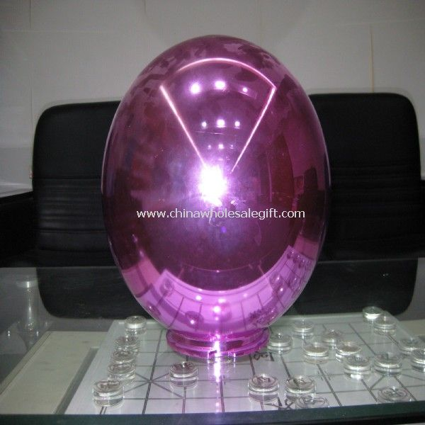 Acrylic Lamp Shade with red color