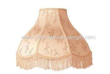 Cream Scallop Dome Shade Lamp