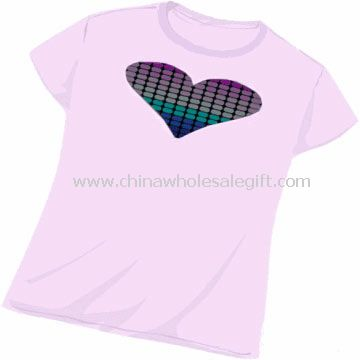 Flashing EL T-shirt for all concerts parties