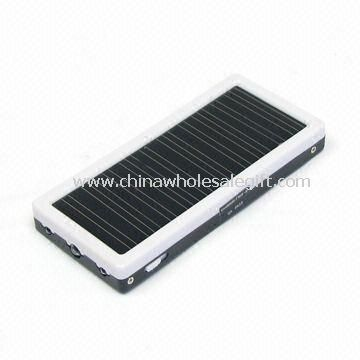 Portable Solar Charger with 800mA Input Current