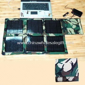 Portable Solar Power System with 1,100mA Current and 24V Voltage