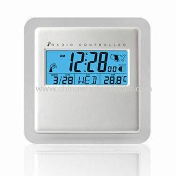 LCD Radio Controlled Clock with Weather Forecast Function