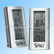 Multifunction LCD Clock with Plastic Case Alarm and Thermometer images