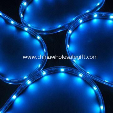 3-in-1 5050 SMD Flexible LED Strip in Waterproof Silicone Tube with Color Changing and UV Resistant
