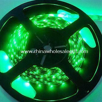 LED Strip Lights Green Color with Non-waterproof 0.2mm Thickness